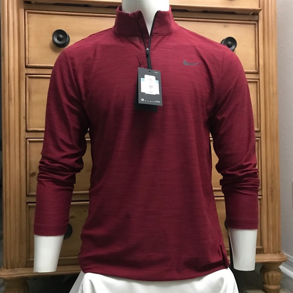 cd128f49 Under Armour Shirts | Nwt Men Nike Breathe Quarter Zip Ls Shirt ...